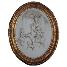 Gilt Children Wall Plaque Wall Art