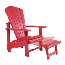 Generations Upright Adirondack Pull Out Footstool