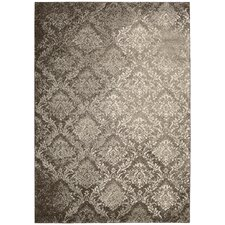 <strong>Kathy Ireland Home Gallery</strong> Santa Barbara Beige/Brown Rug