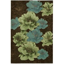 <strong>Kathy Ireland Home Gallery</strong> Palisades Chocolate Rug