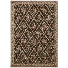 Villa Retreat Chocolate Rug