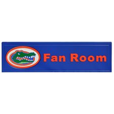 NCAA Fan Room Graphic Art Plaque
