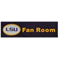 NCAA Fan Room Graphic Art Plaque