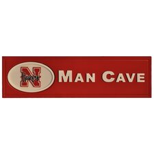 NCAA Man Cave Plaque