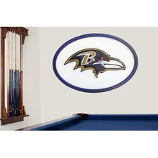 NFL Logo Graphic Art Plaque