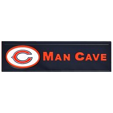 NFL Man Cave Plaque