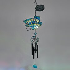 Butterfly Chime with Color Changing LED
