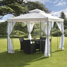 Polenza 8 Ft. W x 8 Ft. D Steel Gazebo