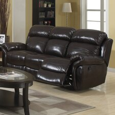Raisin Double Reclining Sofa