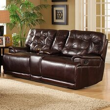 <strong>Lee Furniture</strong> Nextweek Double Reclining Loveseat