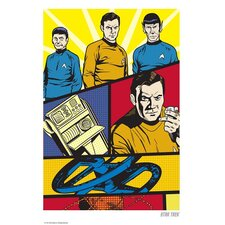 Star Trek Trek Goes Pop Print Art