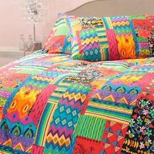 Juanita 3 Piece Queen Duvet Set