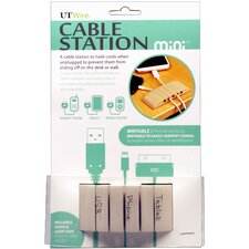 <strong>UT Wire</strong> Cable Management Cable Station Mini