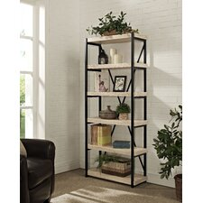 "Emery 6 Shelf 72"" Bookcase"