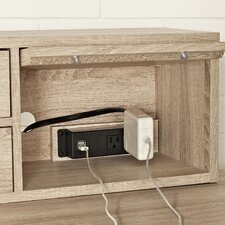 "Emery 48"" Hutch with AC/USB Power Hub"