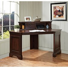 Belcourt Corner Writing Desk with Hutch