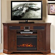 "Belcourt 58.63"" Corner TV Stand with Fireplace"
