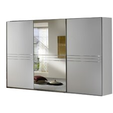 Medina 3 Door Sliding 1 Mirror Wardrobe