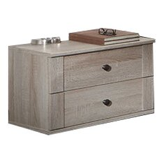 Chalet 2 x 2 Drawer Bedside Table