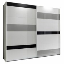 Mondrian 180 cm 2 Sliding Door Wardrobe