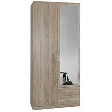 Omega 2 Door Wardrobe with Mirror