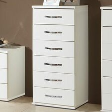 Duo 6 Drawer Chest