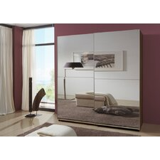 Queen Full Mirrored Sliding Wardrobe