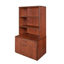 "Sandia Low Box/Lateral File/Hutch 55"" Bookcase"