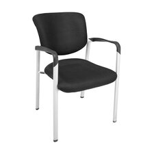 Ultimate Black Side Chair with Arms
