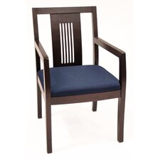 <strong>Regency</strong> Preston Guest Side Chair with Transitional Wood Back