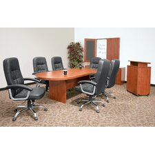 "<strong>Regency</strong> 120"" x 47""  Racetrack Conference Table Office  Set"