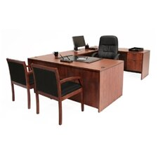 Executive Desk with U-Shaped