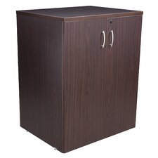 "35"" Floor or Stacking Storage Cabinet"