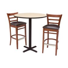 Zoe 3 Piece Pub Table Set