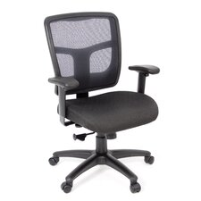 Kiera Mesh Syncro Knee-Tilt Office Chair with Arms