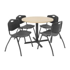 Hospitality Four Chairs with Steel Frame