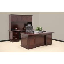 Prestige Traditional Executive Desk Office Suite