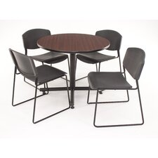 Hospitality Four Zeng Chairs with Round Table