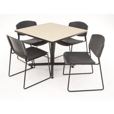 Hospitality Four Zeng Chairs with Square Table