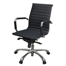 Solace Leather Professional Chair with Arms
