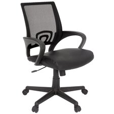 Curve Mesh Back Multi Function Chair with Arms