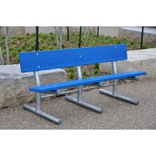 <strong>Frog Furnishings</strong> Madison Recycled Plastic Park Bench