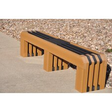 <strong>Frog Furnishings</strong> Gateway Recycled Plastic Park Bench
