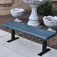 Creekside Recycled Plastic Park Bench