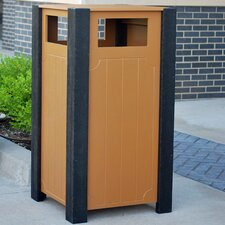 Ridgeview Recycled Plastic Receptacle