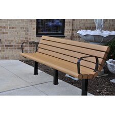 Jameson Recycled Plastic Park Bench