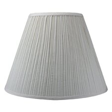<strong>Home Concept Inc</strong> Empire Coolie Hardback Shade Shantung Fabric Lamp Shade