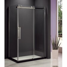 Eva II Sliding Door Shower with Base