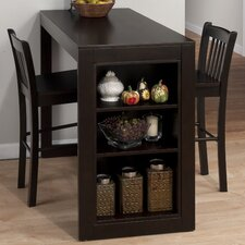 Marlyland Merlot Counter Height Pub Table with Optional Stools