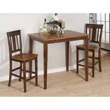 <strong>Jofran</strong> 3 Piece Counter Height Dining Set